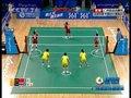 视频:女子藤球决赛第2场 中国后背拦网得分