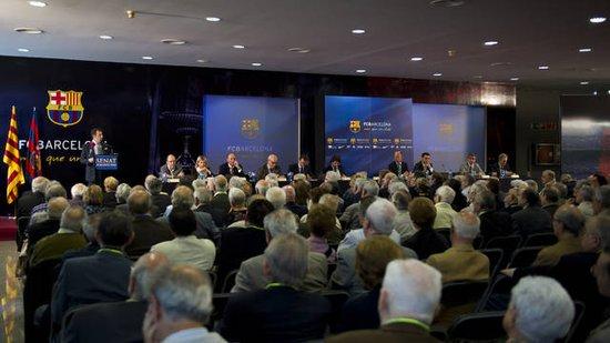 巴塞罗那俱乐部参议院