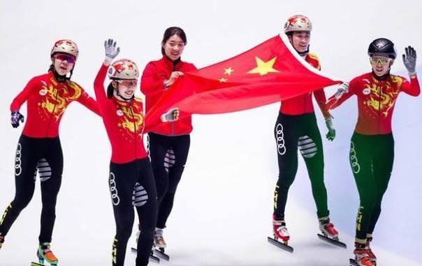 短道速滑韩国干扰中国队被判犯规 决赛中国夺冠
