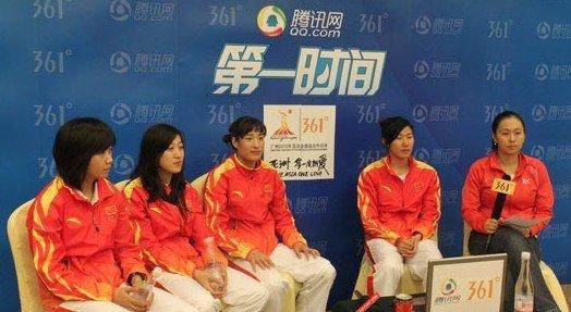 实录:女子现代五项冠军做客 我们未来会更好