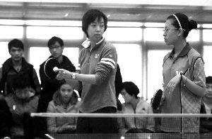 张怡宁为北体大学生授课 宝贵经验或写入教材