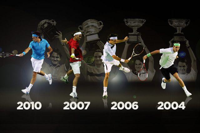 费德勒曾四夺澳网冠军