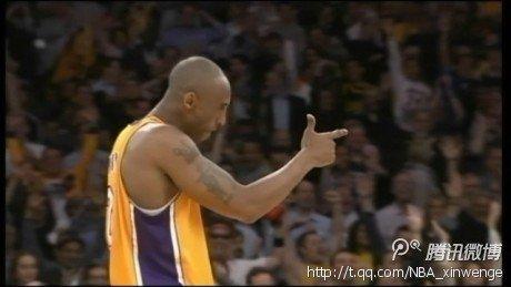 科比:三分球仅是一个投篮 手枪手势给法玛尔