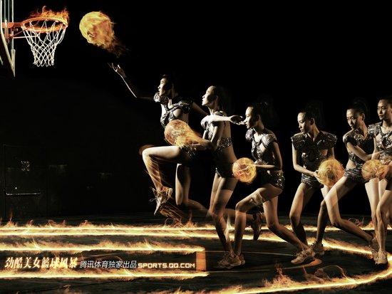 《型动》第28期美女篮球英雄精美壁纸