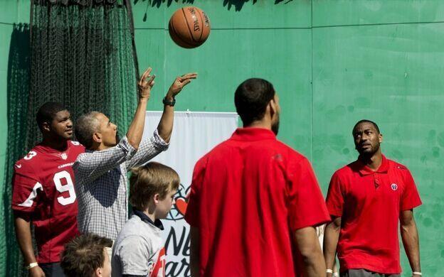 奥巴马欲成NBA球队老板 总统助奇才抢杜兰特?