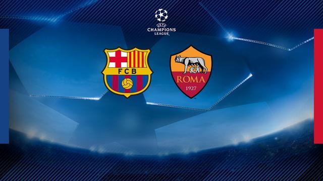 巴萨将在欧冠八强对阵罗马