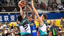 篮球亚冠-菲律宾联擒哈萨克豪门 奥斯汀17+18