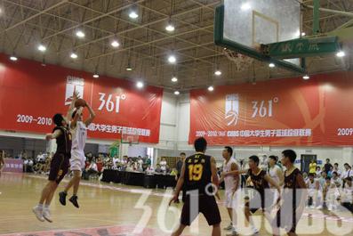 361°CUBS半决赛次轮:东北师大主场胜天工业