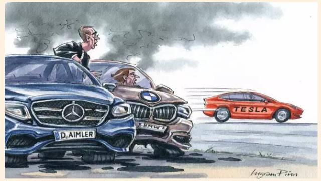 """汽车界的苹果!特斯拉正给德国车企带来""""iPhone""""时刻"""