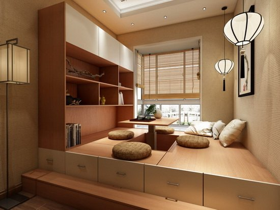 遂宁人可如此设计£¬家里加上一个榻榻米让一房N用£¡