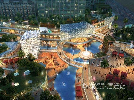 宿迁国际购物公园-市民最期待的商业地产