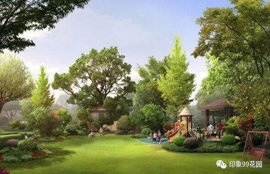 宿豫印象99花园景观之美极致景观 就在中央