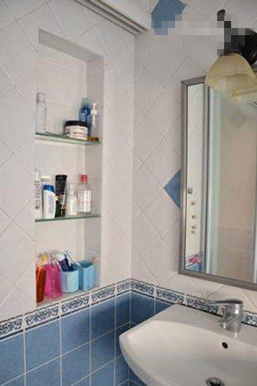 优化空间布局 4招搞定卫浴间杂物图片