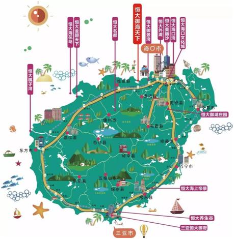 海南恒大御海天下:千亩生态海岸 开启海岛度假新纪元