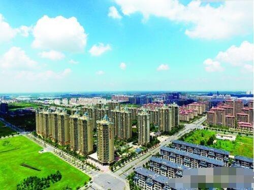 苏宿工业园区:十年成就翻天覆地 农田终变现代新城
