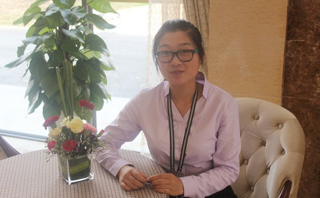 置业顾问李雨婷