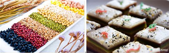 五谷杂粮礼盒 精美中式茶歇图片