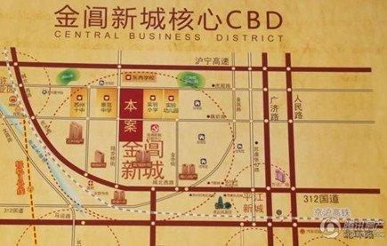 南沿苏虞张连接线和苏州著名的虎丘风景区相邻,西临京杭大运河与苏州