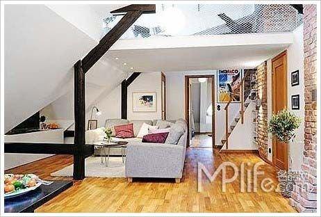 小户型阁楼装修图片:复式公寓