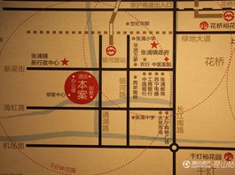 张浦裕花园区位图
