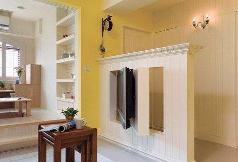 小电视墙装修效果图 8款简约时尚的客厅装修