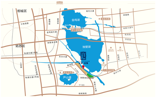 余姚兰墅公园平面图
