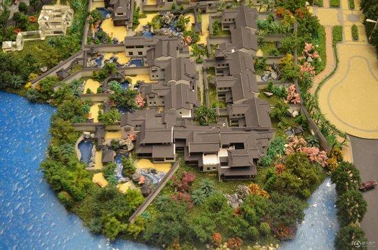 """为了打造出真正完美的园林景观,在这块土地上实现""""中国最好的中式别墅图片"""