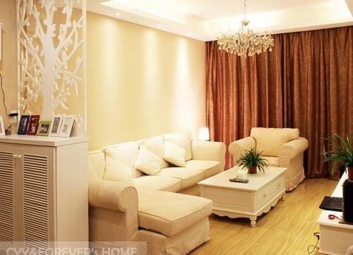 80平两室一厅装修 12万打造简欧风格温馨窝