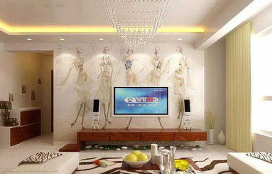 电视背景墙怎么做好看?