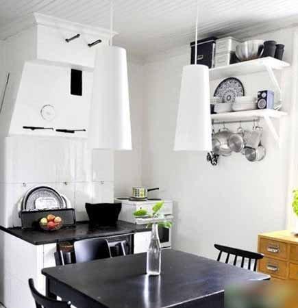 五平米厨房装修效果图 巧妙搭配烹饪空间