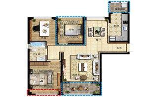 千嵘望湖公寓A1户型