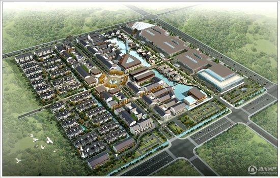 中国工艺文化城 一个文化交流的特色商业
