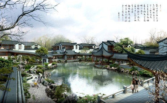 中国古典园林是指以江南私家园林和北方皇家园林为代表的中国山水园林
