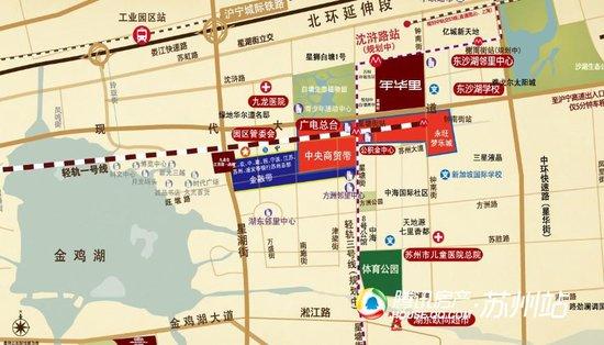 九龙仓|年华里:3号线里沈浒路站,落定家门口图片