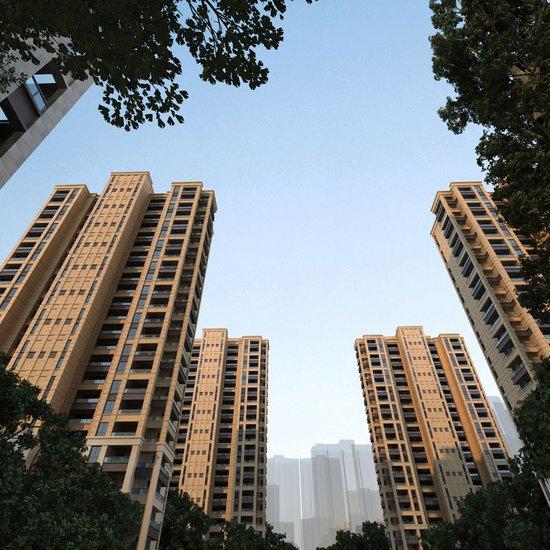 高层住宅效果图 高清图片