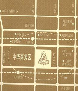 中星城际广场区位图