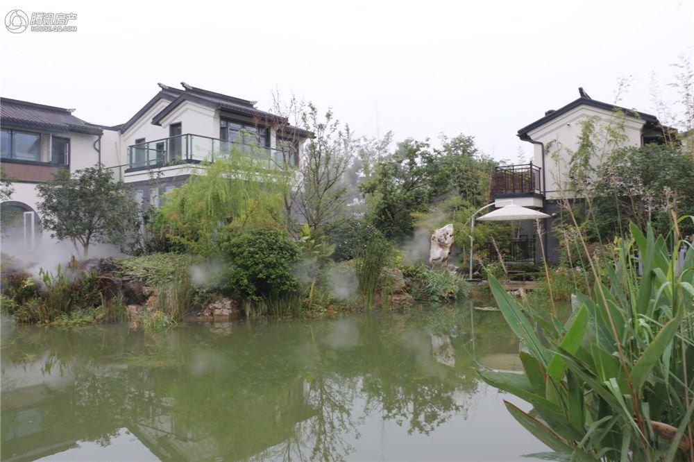 太湖东山半岛上 稀有的中式立面纯独栋别墅