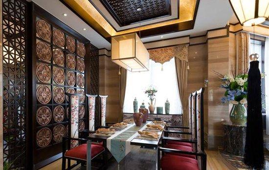 经典农村三合院别墅设计图,新中式堂屋,一层设计简单舒适 宽640×549图片