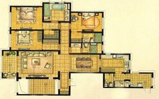 中星城际广场194�O三房两厅三卫