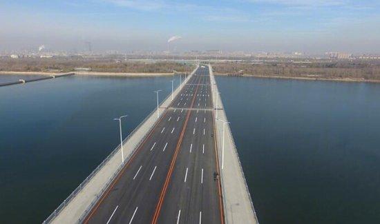 王家湾跨浑河桥明日通车
