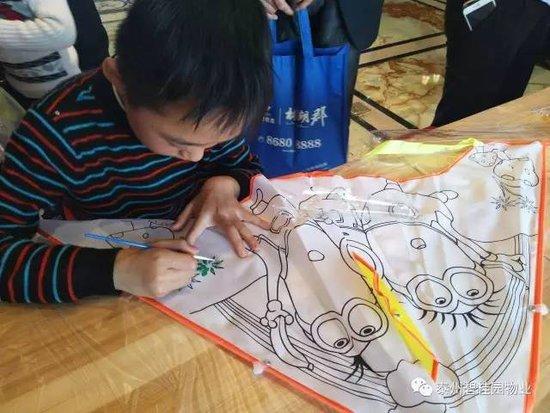 涂鸦春天,放飞梦想 亲子风筝DIY活动精彩回顾图片