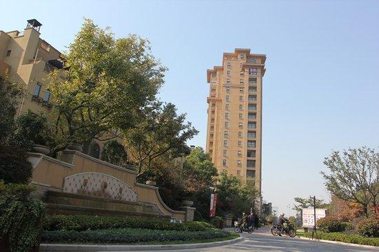 景瑞地产.旗下泰州景瑞·荣御蓝湾项目,位于永兴路与兴泰南高清图片