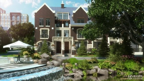 2米宽主卧房间;面积赠送:首层附赠2层地下室及庭院.