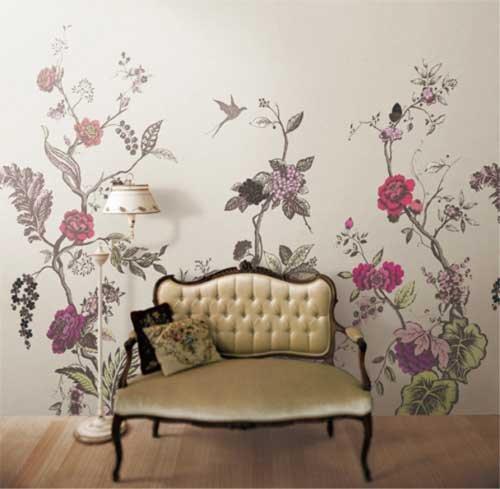 创意无处不在 多彩墙面涂鸦设计为家增姿图片