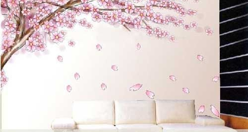 信手涂鸦手绘墙画 打造现代简约生活家居