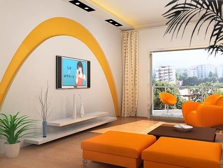 欧式风格装修家居电视背景墙装修效果图让你享受西欧家居装修文化图片