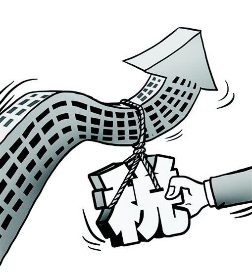 房地产泡沫非常严重 房产税推出势在必行 房产
