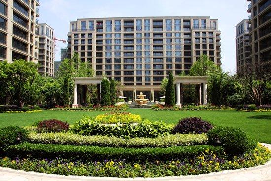 溪诚园为绿城第二代高层公寓代表(摄于杭州绿城·西溪诚园)