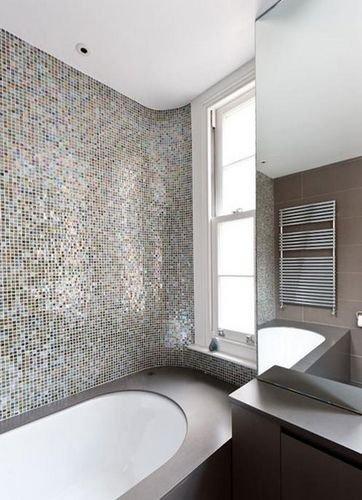 15款卫浴间装修案例 简易马赛克打造时尚新主张