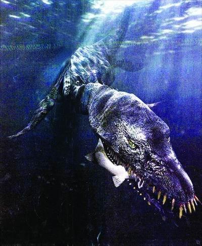 苏格兰的尼斯湖水怪(点击图片进入下一页)-未解之谜 全球神秘怪物